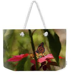 The Hidden Monarch Weekender Tote Bag