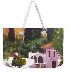 The Hidden Villa Weekender Tote Bag by Jim Phillips