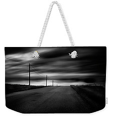 Weekender Tote Bag featuring the photograph The Highway by Dan Jurak