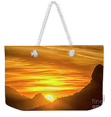 The Hills Of Arizona At Sunset Weekender Tote Bag