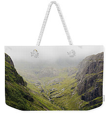 Weekender Tote Bag featuring the photograph The Hills Of Glencoe by Christi Kraft