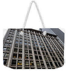 The Historic Monroe Building Weekender Tote Bag