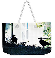 The Hitchcock Moment Weekender Tote Bag