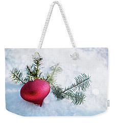 Weekender Tote Bag featuring the photograph The Holidays by Rebecca Cozart
