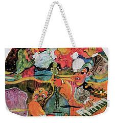 The Holland Jazz Trio Weekender Tote Bag