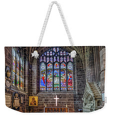 The Holy Cross Weekender Tote Bag by Ian Mitchell