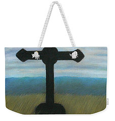 The Holy Cross Weekender Tote Bag