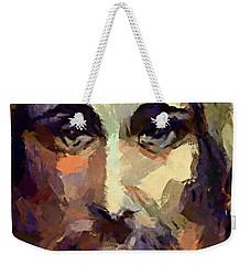 The Holy Face Of Jesus  Weekender Tote Bag