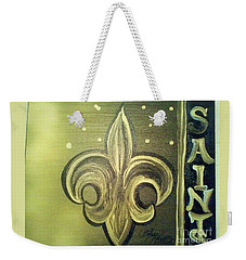The Holy Saints Weekender Tote Bag by Talisa Hartley