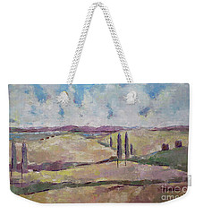 The Homeland Weekender Tote Bag by Becky Kim