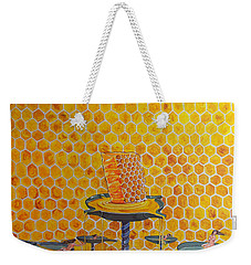 The Honey Of Lives Weekender Tote Bag by Lazaro Hurtado