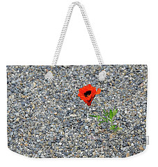The Hopeful Poppy Weekender Tote Bag