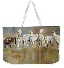 The Horizon Line Weekender Tote Bag by Frances Marino