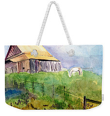 The Horse Barn Weekender Tote Bag