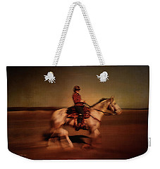 The Horse Rider Weekender Tote Bag