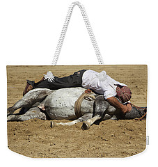 The Horse Whisperer Weekender Tote Bag by Venetia Featherstone-Witty