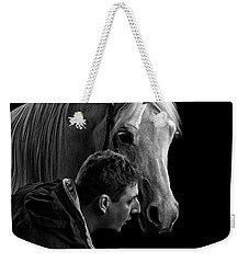 The Horse Whisperer Extraordinaire Weekender Tote Bag