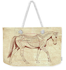 The Horse's Walk Revealed Weekender Tote Bag by Catherine Twomey