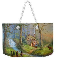 The House Of Tom Bombadil.  Weekender Tote Bag by Joe  Gilronan