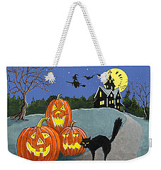 The House On Cemetery Hill Weekender Tote Bag