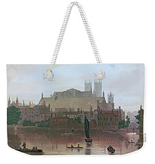 The Houses Of Parliament Weekender Tote Bag by George Fennel Robson