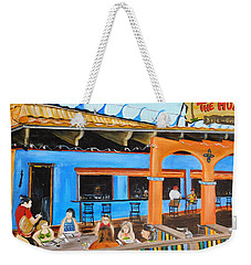 The Hub Baja Grill On Siesta Key Weekender Tote Bag
