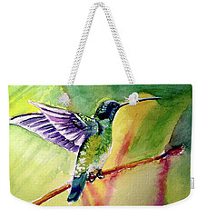The Hummingbird Weekender Tote Bag