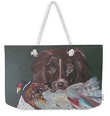 The Hunt Weekender Tote Bag