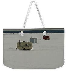 The Huts Weekender Tote Bag