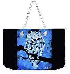 The Ice Owl Weekender Tote Bag