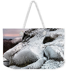 The Ice Queen Returns, North Tor Slieve Bearnagh Weekender Tote Bag