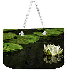 The Illuminated Lotus Weekender Tote Bag