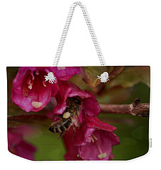 The Importance Of Bee's Weekender Tote Bag by Eskemida Pictures