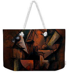 The Impossibility Of Mass Weekender Tote Bag