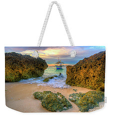 Weekender Tote Bag featuring the photograph The Inbetweener by Yhun Suarez
