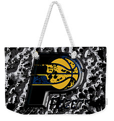 The Indiana Pacers Weekender Tote Bag by Brian Reaves