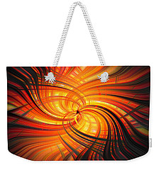 Weekender Tote Bag featuring the photograph The Inferno by Cathy Donohoue