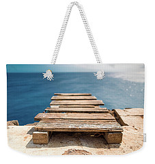 The Infinite Blue Weekender Tote Bag