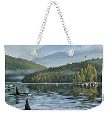 The Inside Passage Weekender Tote Bag