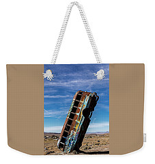 The International Car Forest Of The Last Church 2 Weekender Tote Bag