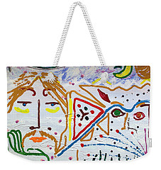 The Introspection Weekender Tote Bag