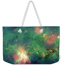 Weekender Tote Bag featuring the photograph The Invisible Dragon by NASA JPL-Caltech