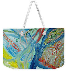 The Invisible World Weekender Tote Bag