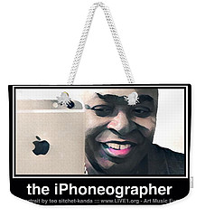 the iPhoneographer Weekender Tote Bag by Teo SITCHET-KANDA