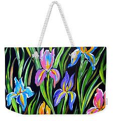 The Irises Weekender Tote Bag