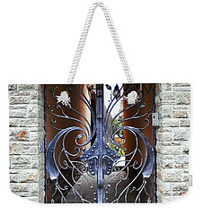 The Iron Gate Weekender Tote Bag