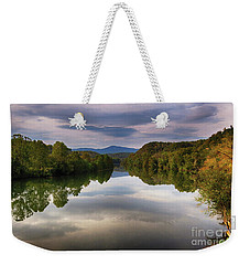 The James River Reflection Weekender Tote Bag