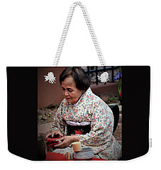 The Japanese Tea Ceremony Weekender Tote Bag by John Glass