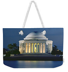 The Jefferson Memorial Weekender Tote Bag by Peter Newark American Pictures