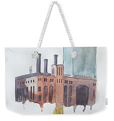 The Jersey City Powerhouse Weekender Tote Bag